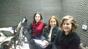 Patricia Varela, Daisy Margariy y Fernanda Stang