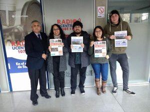 Felipe Vuletich, Maritza Carrasco, Héctor San Martín, Paulina Arenas.