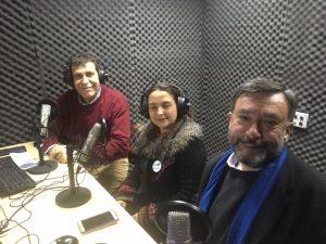 Marco Moreno, Eva Jiménez y Cristián Fuentes