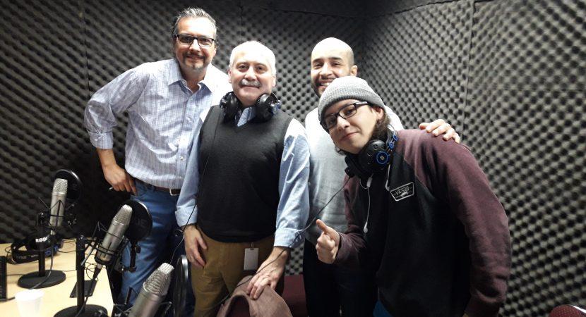 Emprendimiento Familiar Geometrical visita Radio UCentral