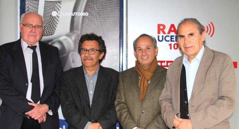 Bernardo Javalquinto participó de Economía y Sociedad