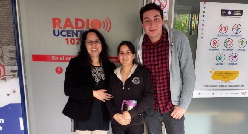 Estudiante de Enfermería habla del proyecto Cuidado Avanzado de Heridas Crónicas