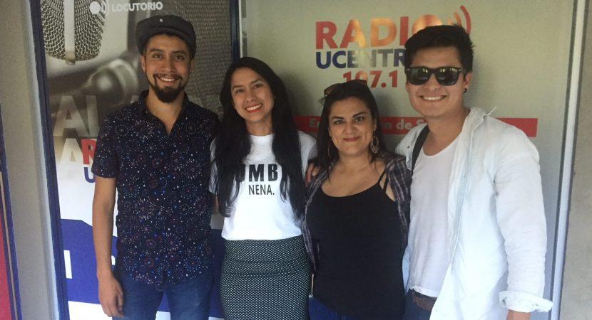 Orquesta A Fuego Son presentó su nuevo disco en Radio UCentral