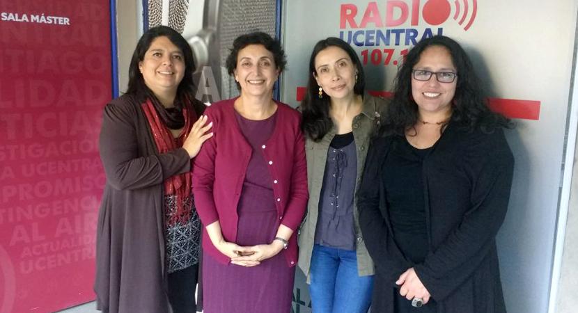 Directora de la Junta Directiva de la UCEN destaca el rol de la mujer en la academia
