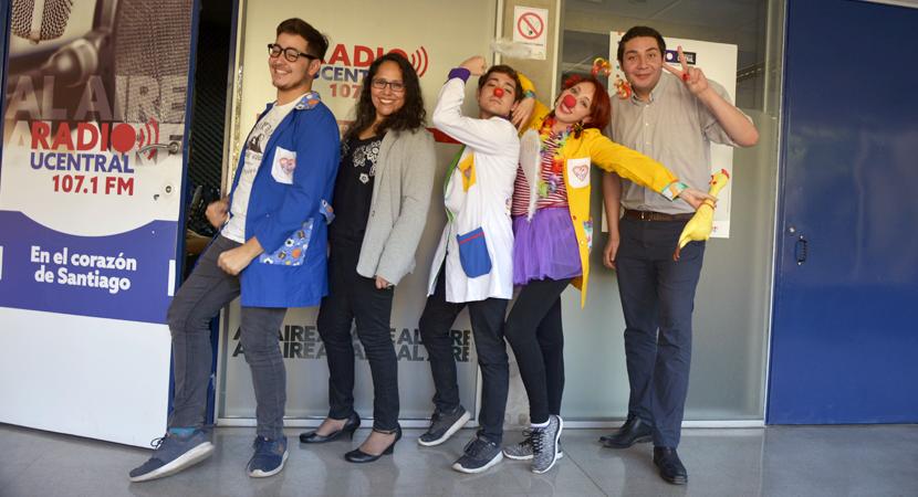 Estudiantes de la UCEN cuentan sobre su proyecto Inmunorisas