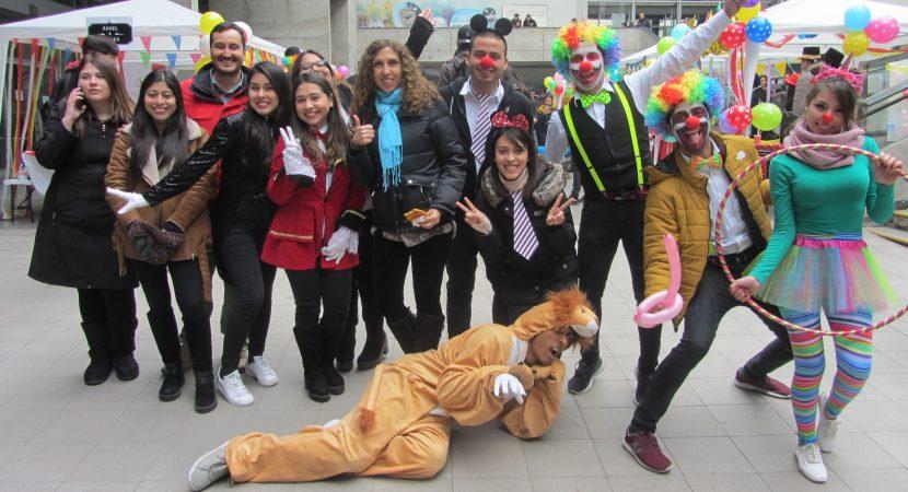 Estudiantes de la UCentral realizan feria de Marketing y Empresas inspirados en el Circo