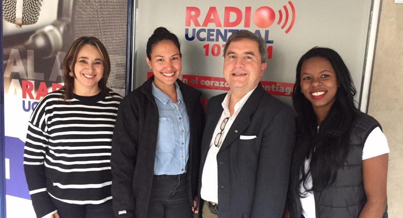 Psicólogas de México y Cuba realizan pasantía sobre psicología de la salud en la UCentral