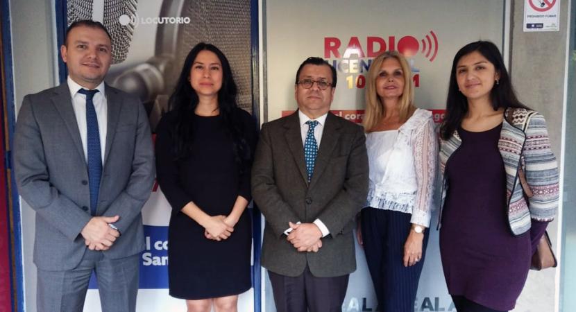 Diplomáticos colombianos participan de «Derecho para Todos»