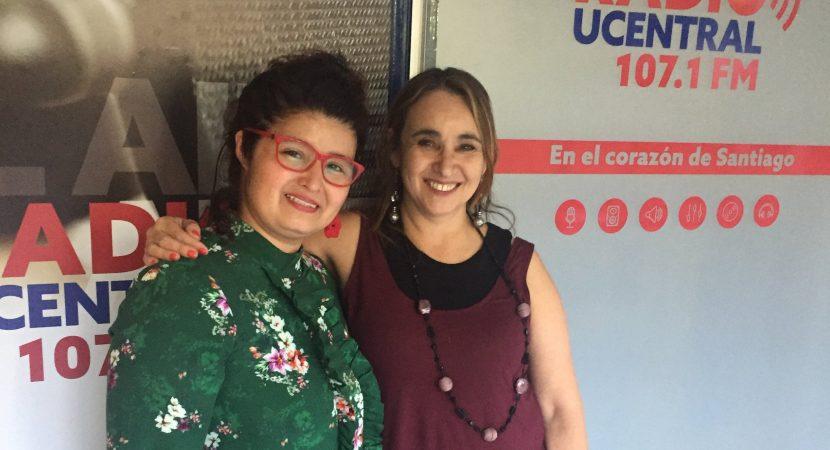 Voluntaria de Fundación Renaciendo, Jacqueline Cerda, relató su experiencia comunitaria en torno a personas trans