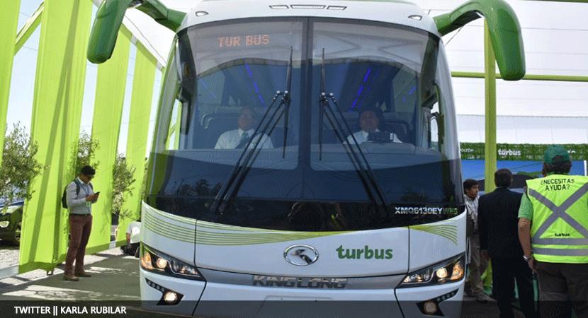 Chile será el primer país de América con recorrido de bus interurbano 100% eléctrico