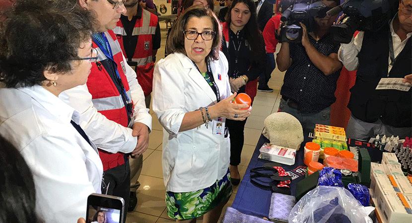 Autoridades entregan recomendaciones a viajeros por productos que ingresan al país a través de los aeropuertos