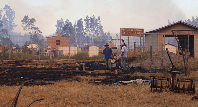 Desafío Levantemos Chile propone la reconstrucción de viviendas afectadas por incendios