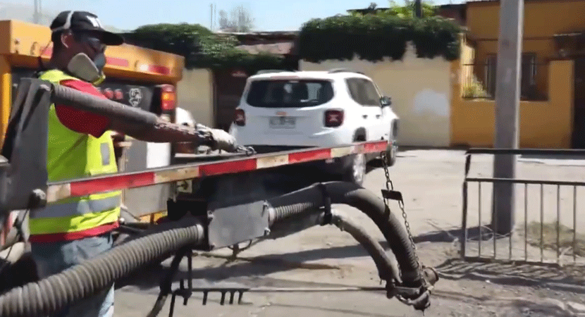 Municipio de Recoleta inicia reparación de sus diferentes calles