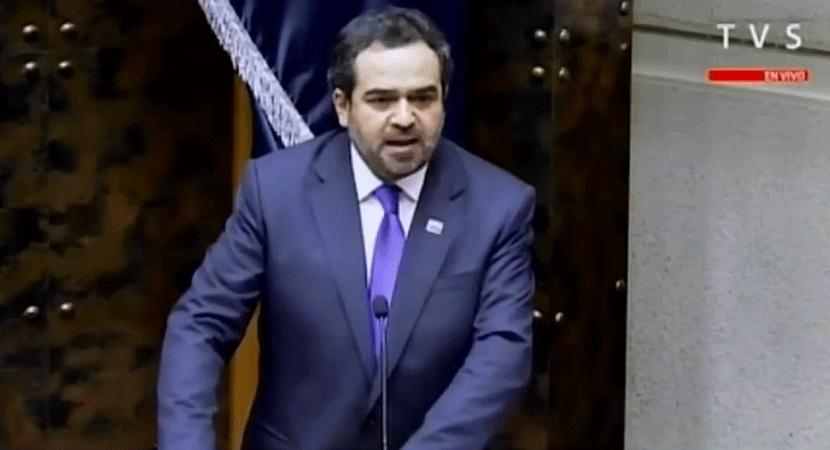 Senador Jaime Quintana es elegido como nuevo presidente en la Cámara Alta del Congreso