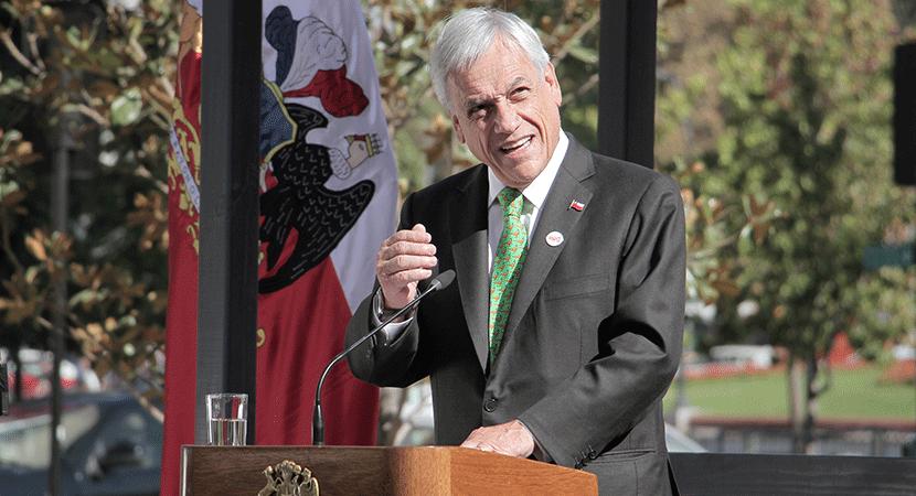 Presidente Sebastián Piñera afirma que la economía nacional será la más recuperada de la región en 2021