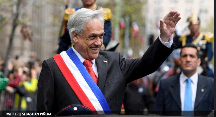 Solo un 37% aprueba la gestión del presidente Sebastián Piñera según los últimos datos de la encuesta Cadem