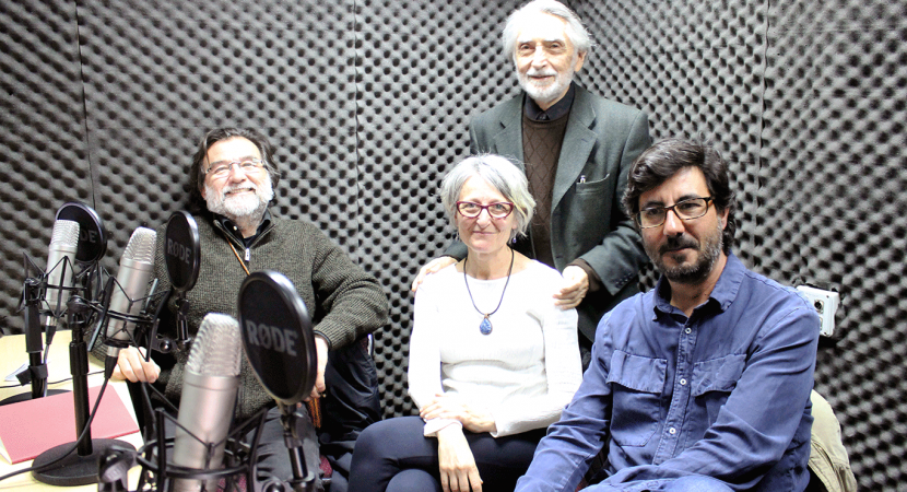 Arquitecta de la Universidad Politécnica de Madrid, Susana Moreno, se refirió a su libro «Arquitectura y Música en el Siglo XX»