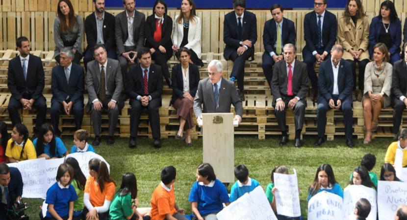 """Presidente Sebastián Piñera sobre cumbre COP25: """"Somos la primera generación que sufre el cambio climático y la última que puede evitar una tragedia"""""""