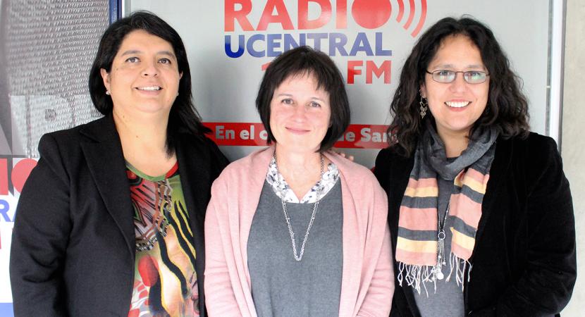 Roxana Pey, académica de la Universidad de Chile, coordinadora de la cátedra de género Amanda Labarca participó en Con Mirada de Mujer