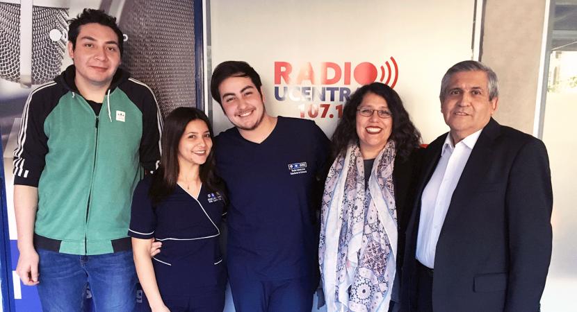 Estudiantes de Enfermería de la Universidad Central hablan del proyecto con el cual buscan enseñar primeros auxilios a niños