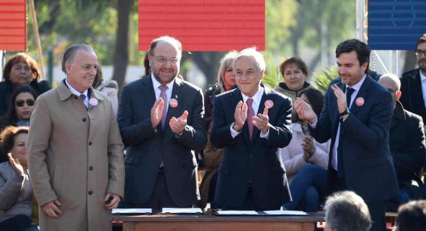 Presidente Sebastián Piñera oficializó programa Clase Media Protegida que beneficiará a sectores sociales con mayor dificultad