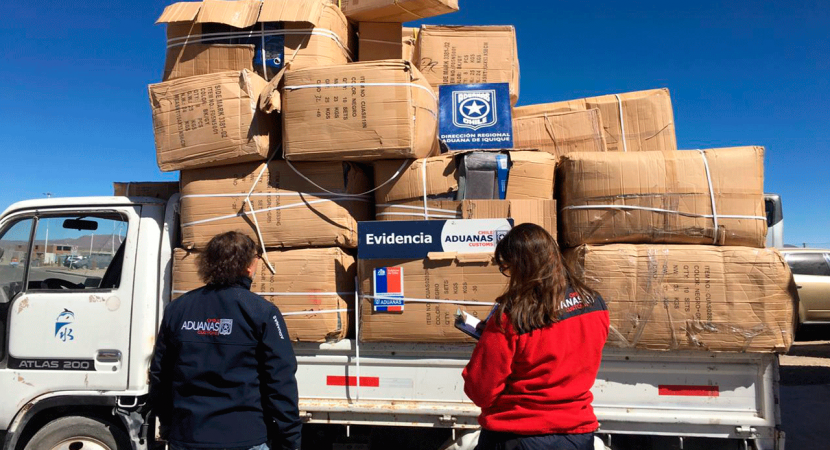 Aduana advierte aumento en procedimientos por contrabando en complejos fronterizos del norte de Chile
