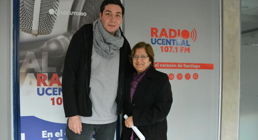 Docente de la Universidad Central Catherine Valdebenito repasó su experiencia como profesora en la Educación Superior