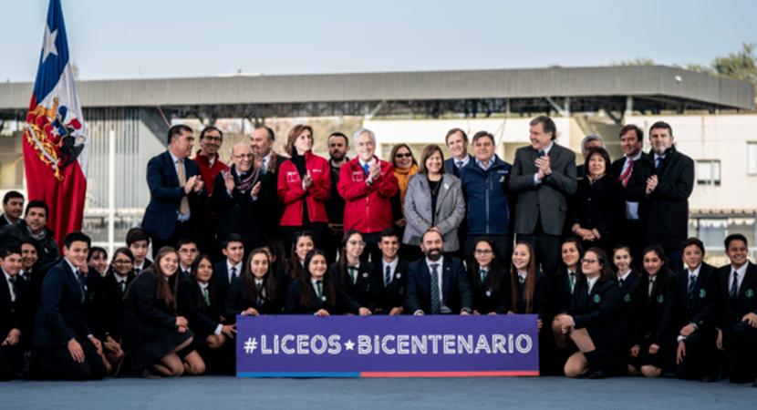 Presidente Sebastián Piñera anuncia cien nuevos Liceos Bicentenario de excelencia a lo largo del país
