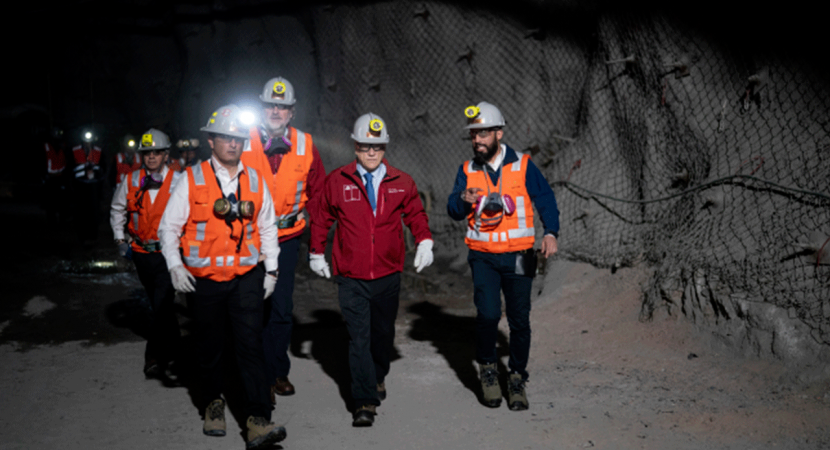 Presidente Piñera inaugura operaciones en Chuquicamata