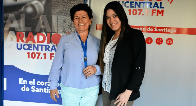 Geóloga de la Universidad Central Regina Toloza compartió su experiencia en un congreso de Portugal