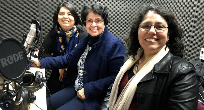 María Victoria Peralta Premio Nacional de Ciencias de la Educación 2019 estuvo en Con Mirada de Mujer