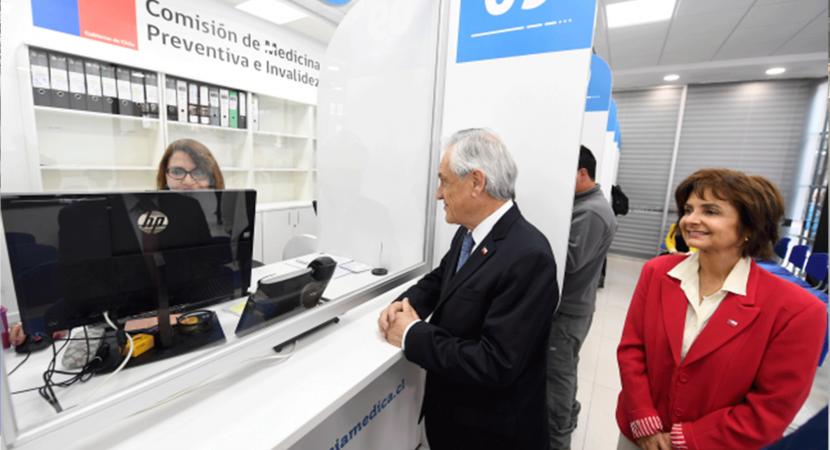 Presidente Sebastián Piñera destaca avances en modernización de la Compin