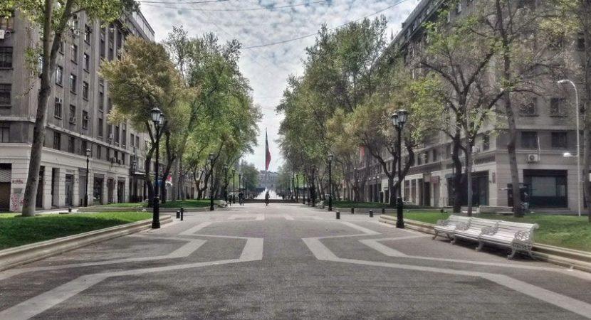 Paseo Bulnes y Parque Almagro será el territorio de intervenciones de la quinta versión del festival 100 en 1 día Santiago
