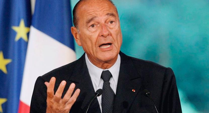 A los 86 años muere expresidente de Francia Jacques Chirac