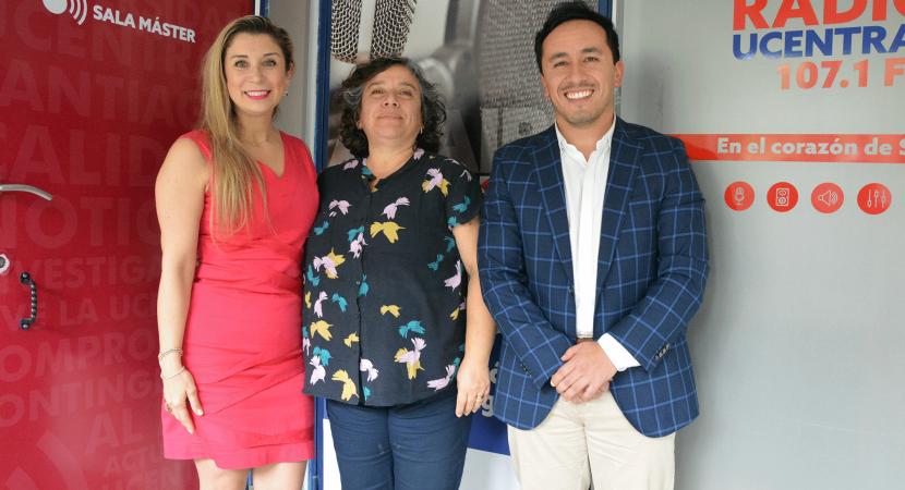Académica Paola Luxoro se refiere a los trabajos con la comunidad que realizan estudiantes del área de la salud