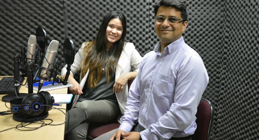 Académico Nelson Sepúlveda se refiere a proyecto de huertos inteligentes que dio a conocer en la Universidad de Talca