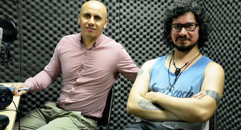 Profesor de lenguaje Nicolás Díaz profundiza en la aplicación de la inter transdisciplinariedad