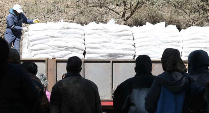 Gobierno entrega ayuda a zonas afectadas por falta de agua en Región de Coquimbo