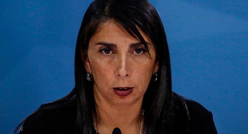 Ministra Karla Rubilar pide esperar investigación por supuesta intervención extranjera en redes sociales durante estallido social
