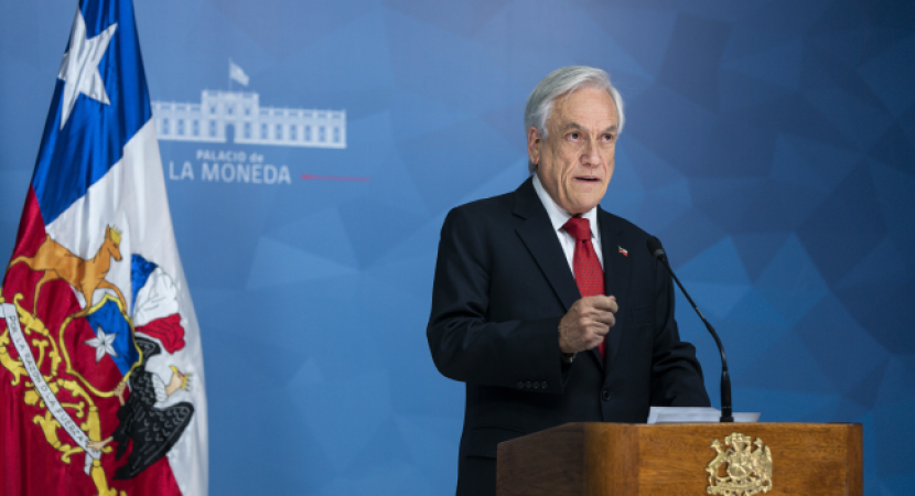 Encuesta Cadem: aprobación al presidente Sebastián Piñera se mantiene en el 11%