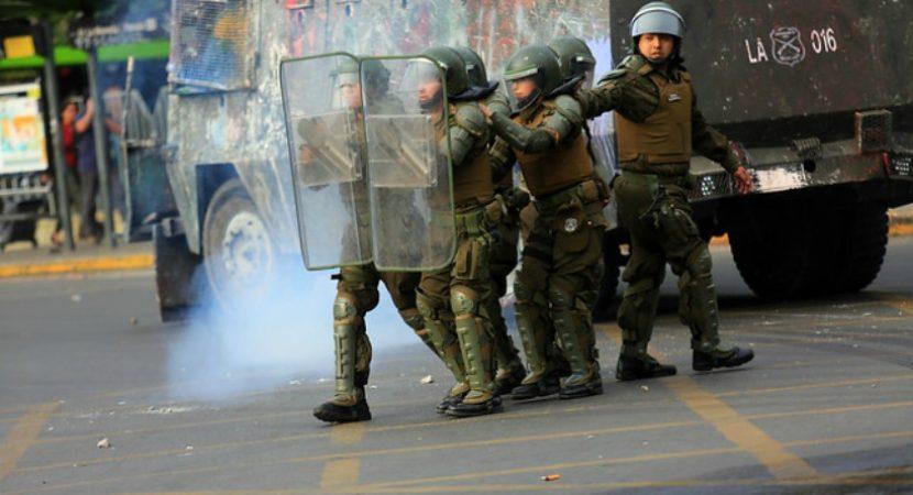Desde octubre casi 700 personas han recibido golpes de agentes del Estado