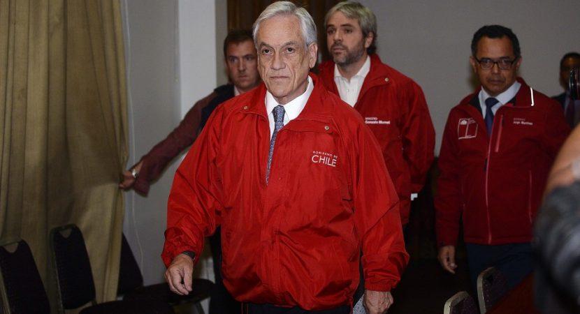 Presidente Sebastián Piñera anuncia red de apoyo para damnificados de incendios en Valparaíso