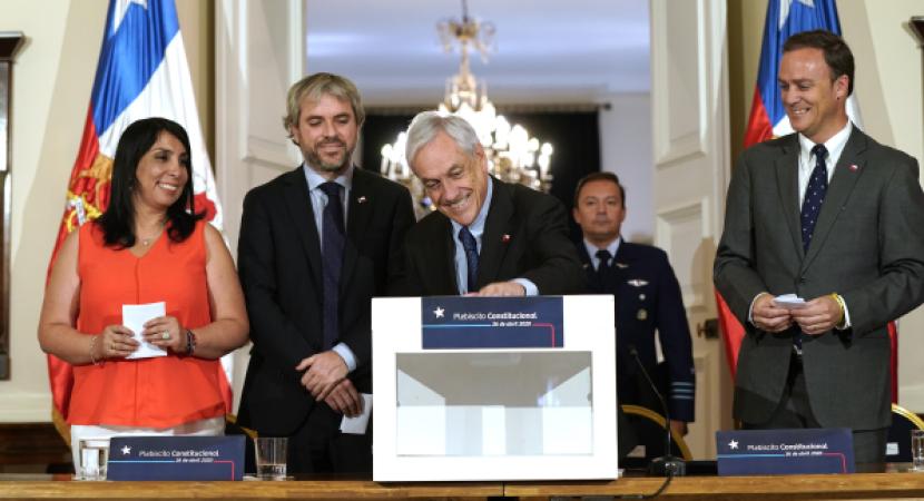 Presidente Sebastián Piñera convoca a Plebiscito Constitucional 2020 e invitó a la ciudadanía a participar