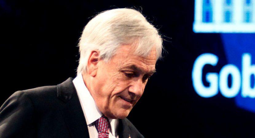 Encuesta CEP: respaldo al presidente Sebastián Piñera se deploma al 6%