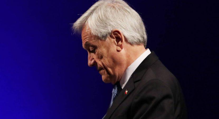 Aprobación del presidente Sebastián Piñera baja al 12% según última encuesta Cadem