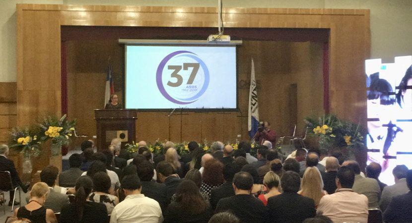 Universidad Central de Chile celebró su 37 aniversario destacando reestructuración institucional