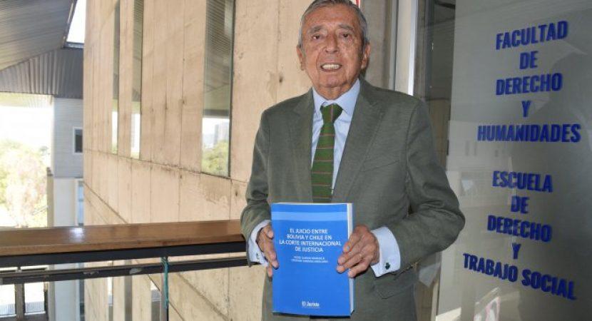 """Publican libro """"El juicio entre Bolivia y Chile ante la Corte Internacional de Justicia"""""""