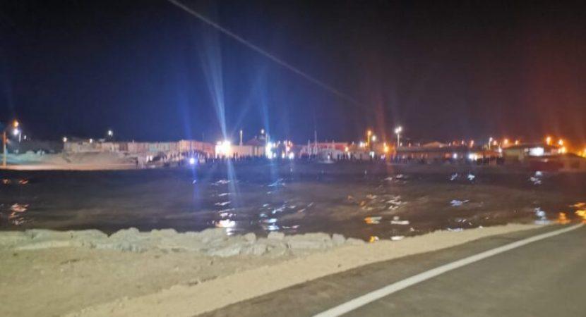 Fuertes lluvias en la Región de Atacama dejan una persona fallecida