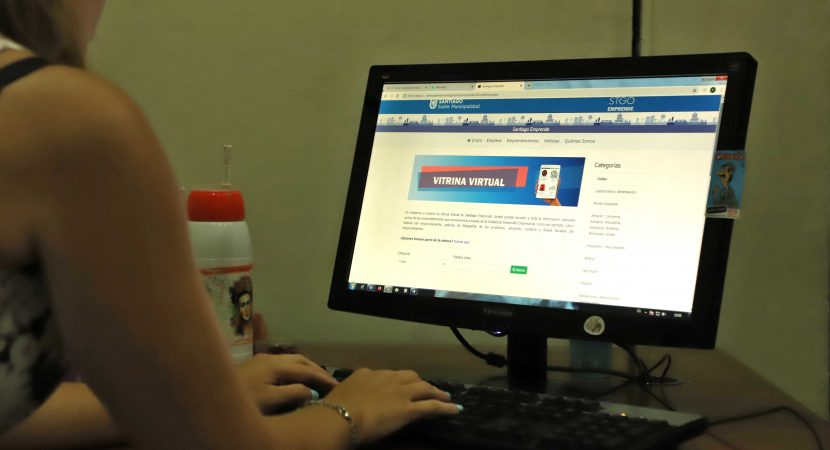 Municipalidad de Santiago activa Vitrina Virtual para Pymes y Emprendedores
