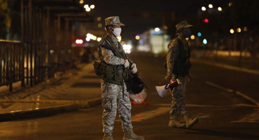519 personas fueron sorprendidas en las calles sin respetar  toque de queda